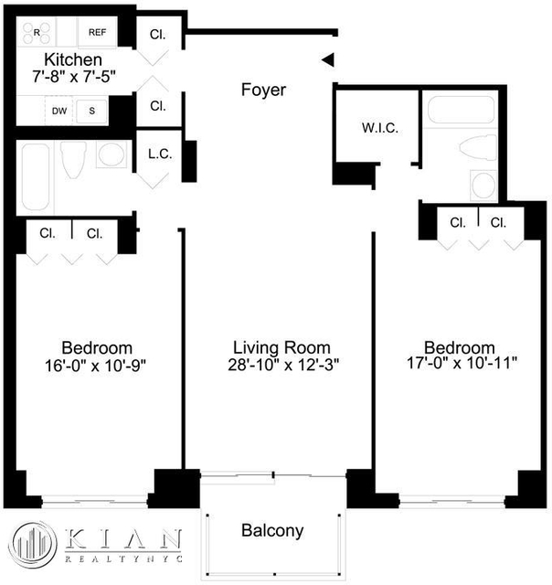 2 Bedrooms, Sutton Place Rental in NYC for $6,295 - Photo 2