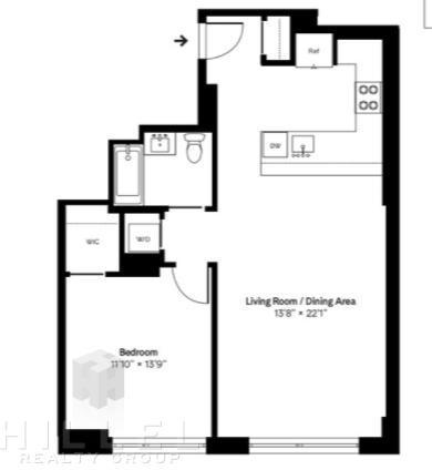 1 Bedroom, Brooklyn Heights Rental in NYC for $5,900 - Photo 2