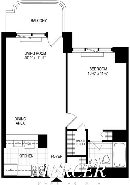 1 Bedroom, Theater District Rental in NYC for $4,075 - Photo 2