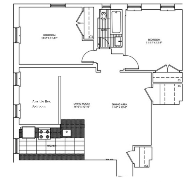 2 Bedrooms, Chelsea Rental in NYC for $5,995 - Photo 2