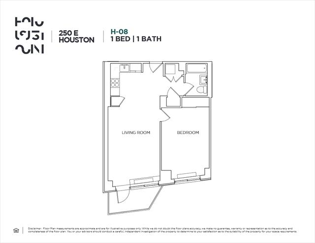 1 Bedroom, Alphabet City Rental in NYC for $4,552 - Photo 2