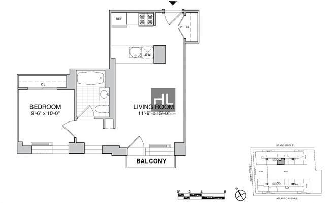 1 Bedroom, Boerum Hill Rental in NYC for $3,595 - Photo 2