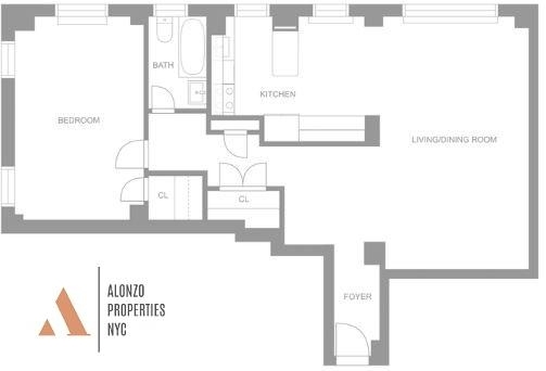 1 Bedroom, Murray Hill Rental in NYC for $4,411 - Photo 2