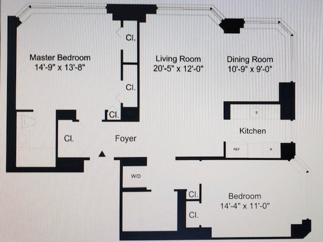 1 Bedroom, Financial District Rental in NYC for $6,277 - Photo 2