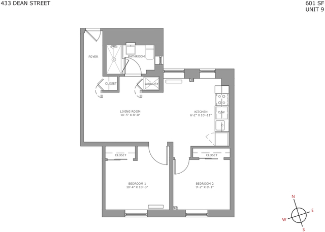 2 Bedrooms, North Slope Rental in NYC for $3,549 - Photo 2