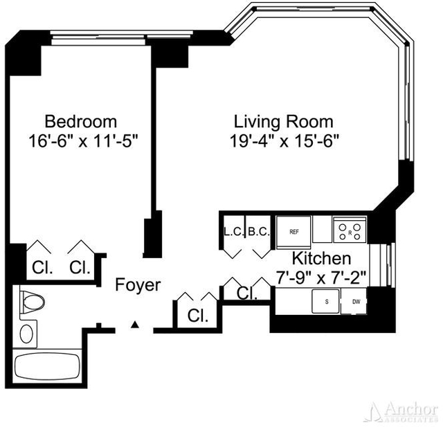1 Bedroom, Murray Hill Rental in NYC for $4,083 - Photo 2