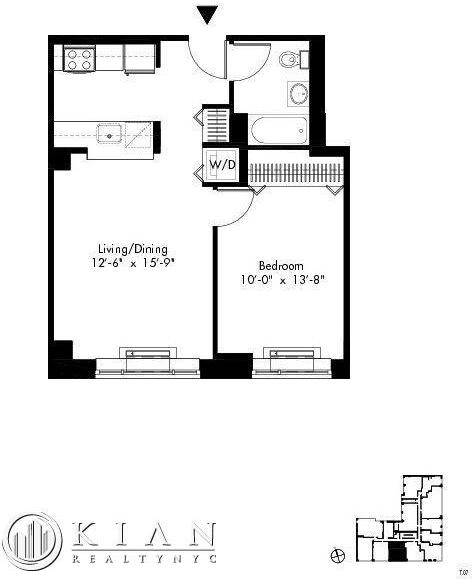 1 Bedroom, Alphabet City Rental in NYC for $3,750 - Photo 2