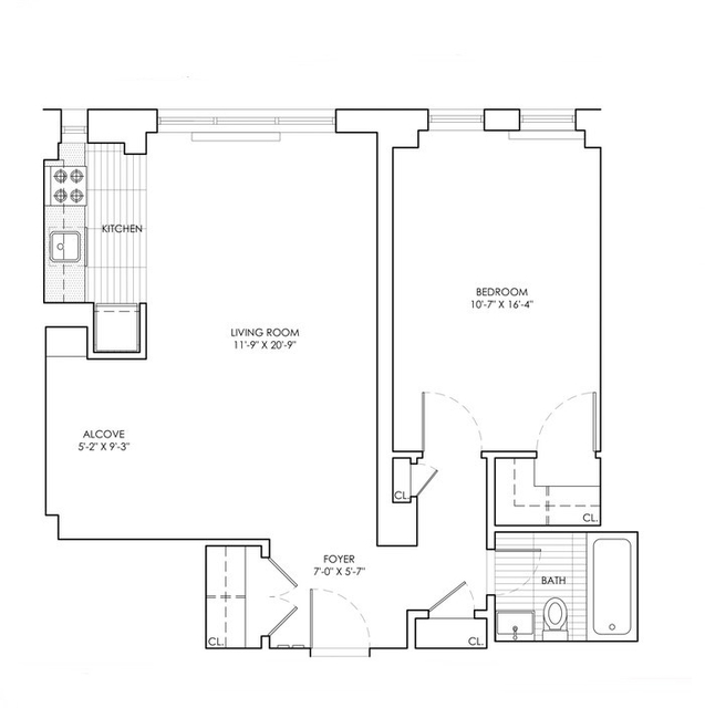 1 Bedroom, Sutton Place Rental in NYC for $4,100 - Photo 2