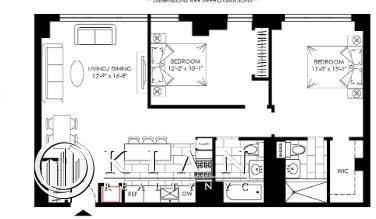 2 Bedrooms, Turtle Bay Rental in NYC for $5,542 - Photo 2