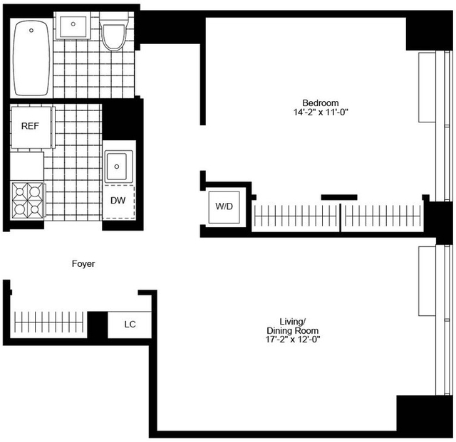 1 Bedroom, Chelsea Rental in NYC for $5,930 - Photo 2
