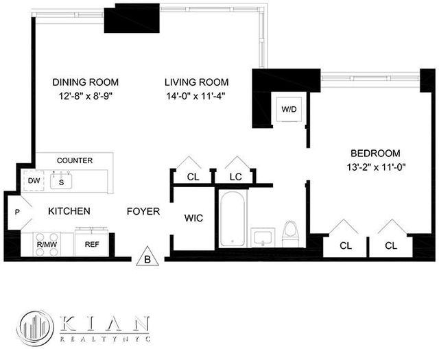 1 Bedroom, Lincoln Square Rental in NYC for $6,095 - Photo 2