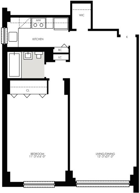 1 Bedroom, Kips Bay Rental in NYC for $4,095 - Photo 2