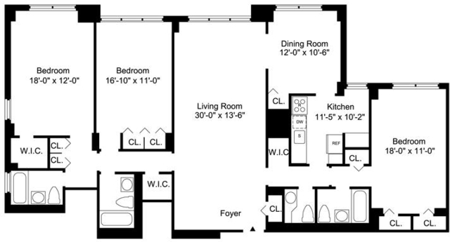 3 Bedrooms, Sutton Place Rental in NYC for $9,295 - Photo 2