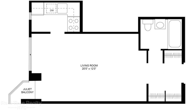 Studio, Flatiron District Rental in NYC for $2,990 - Photo 2