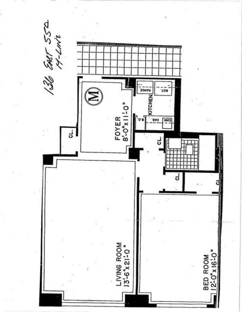 1 Bedroom, Midtown East Rental in NYC for $3,695 - Photo 2