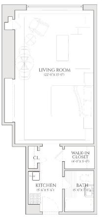 Studio, Turtle Bay Rental in NYC for $2,565 - Photo 2