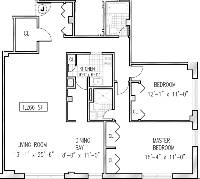 2 Bedrooms, Yorkville Rental in NYC for $6,100 - Photo 2