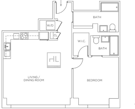 1 Bedroom, Sutton Place Rental in NYC for $6,000 - Photo 2