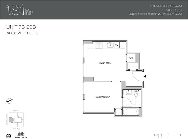 Studio, Williamsburg Rental in NYC for $3,373 - Photo 2