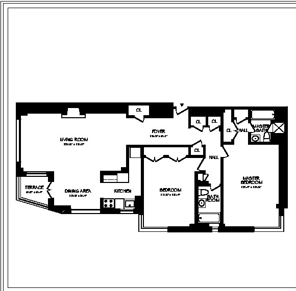 2 Bedrooms, Theater District Rental in NYC for $10,154 - Photo 2
