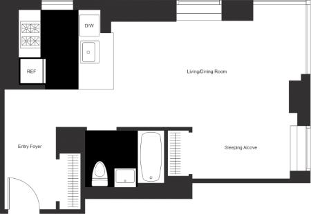 Studio, East Harlem Rental in NYC for $3,695 - Photo 2