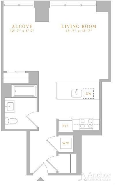 Studio, Flatiron District Rental in NYC for $4,345 - Photo 2