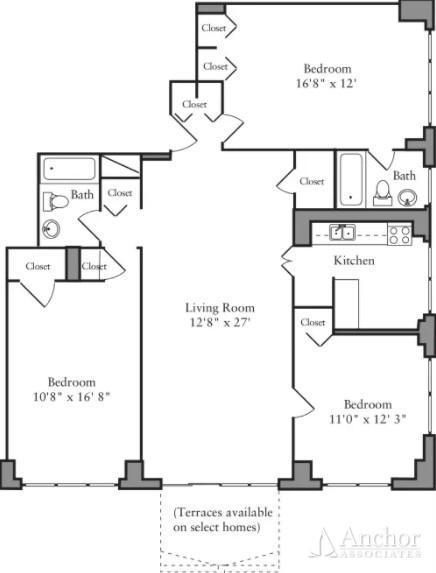 3 Bedrooms, Yorkville Rental in NYC for $6,650 - Photo 2