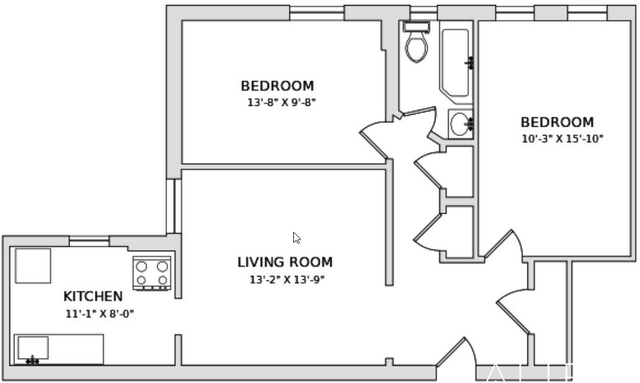 2 Bedrooms, Hamilton Heights Rental in NYC for $2,875 - Photo 2