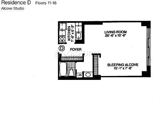 Studio, Theater District Rental in NYC for $3,199 - Photo 2