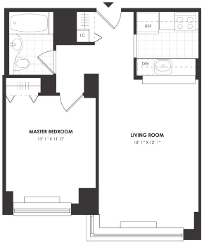 1 Bedroom, NoMad Rental in NYC for $5,221 - Photo 2