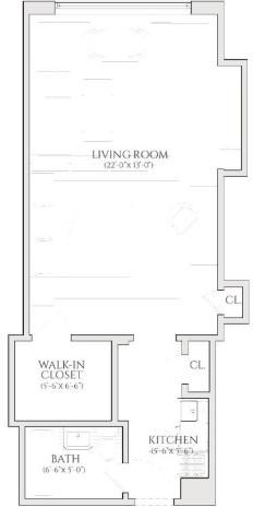 Studio, Turtle Bay Rental in NYC for $2,380 - Photo 2