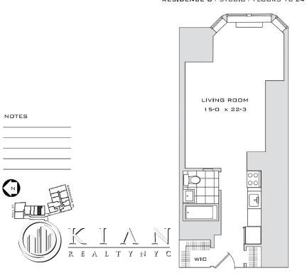 Studio, Financial District Rental in NYC for $2,885 - Photo 2