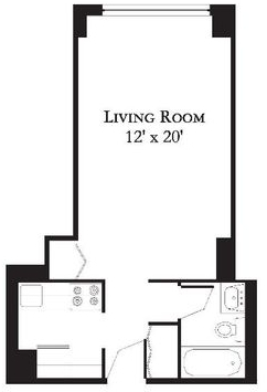 Studio, Theater District Rental in NYC for $2,725 - Photo 2