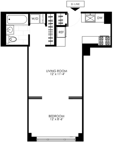 1 Bedroom, Manhattan Valley Rental in NYC for $2,850 - Photo 2