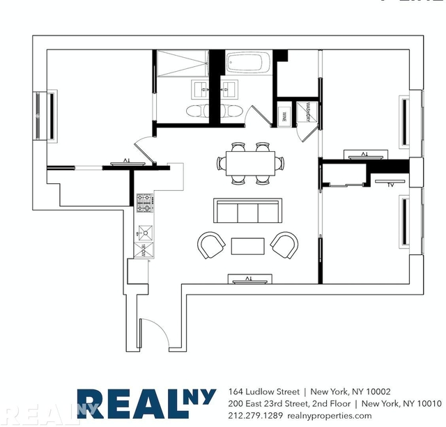 3 Bedrooms, Two Bridges Rental in NYC for $7,630 - Photo 2