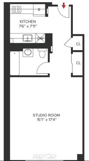 Studio, Koreatown Rental in NYC for $2,650 - Photo 2