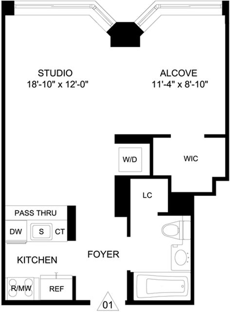 1 Bedroom, Garment District Rental in NYC for $4,295 - Photo 2