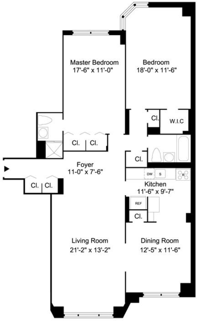 3 Bedrooms, Yorkville Rental in NYC for $5,937 - Photo 2