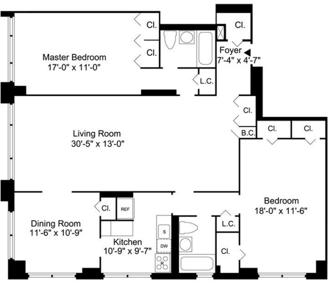 3 Bedrooms, Yorkville Rental in NYC for $6,320 - Photo 2