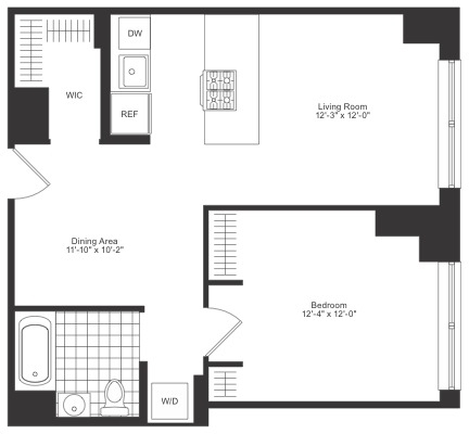 1 Bedroom, Chelsea Rental in NYC for $5,995 - Photo 2