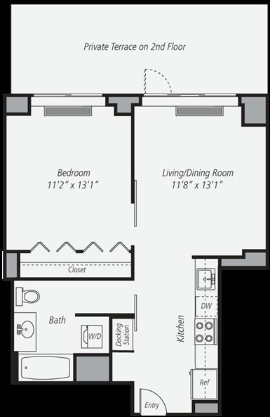 1 Bedroom, Chelsea Rental in NYC for $4,270 - Photo 2