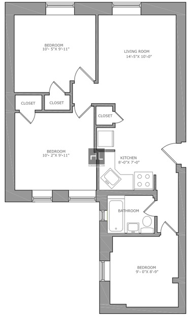 3 Bedrooms, North Slope Rental in NYC for $4,100 - Photo 2