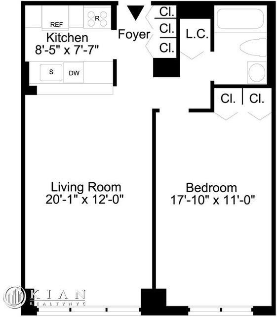 1 Bedroom, Lincoln Square Rental in NYC for $4,295 - Photo 2