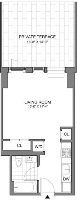 Studio, Williamsburg Rental in NYC for $3,185 - Photo 1