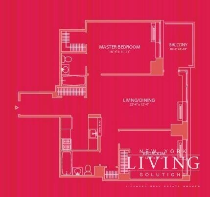 2 Bedrooms, Hell's Kitchen Rental in NYC for $4,217 - Photo 2