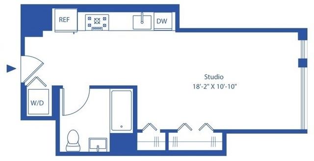 Studio, Astoria Rental in NYC for $2,285 - Photo 2