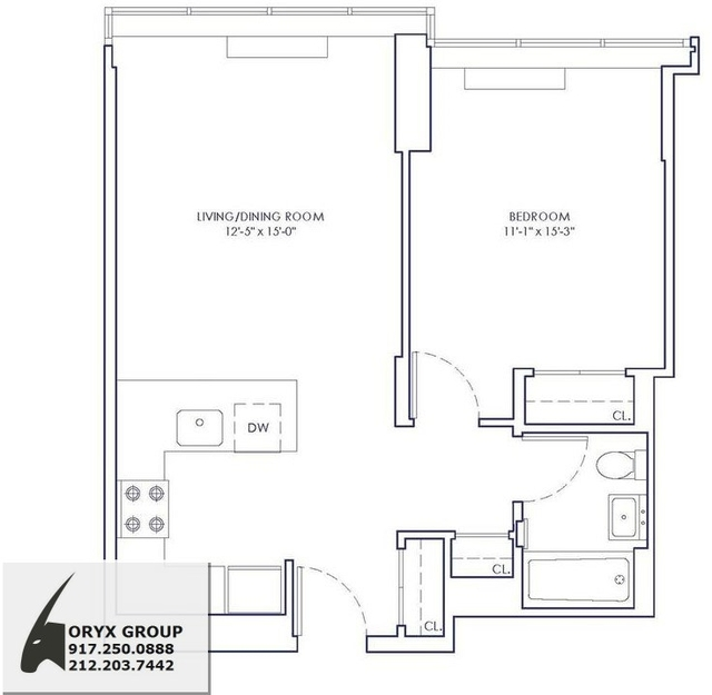 1 Bedroom, Chelsea Rental in NYC for $3,590 - Photo 2
