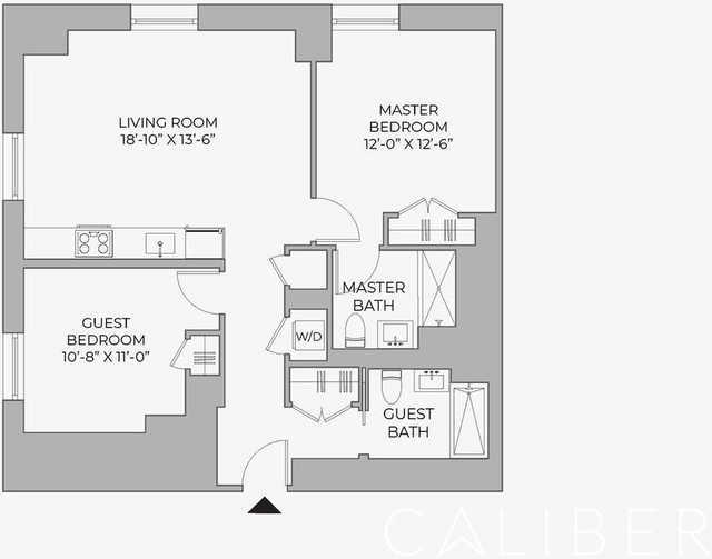 2 Bedrooms, Morningside Heights Rental in NYC for $5,995 - Photo 2