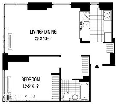 1 Bedroom, Financial District Rental in NYC for $4,730 - Photo 2