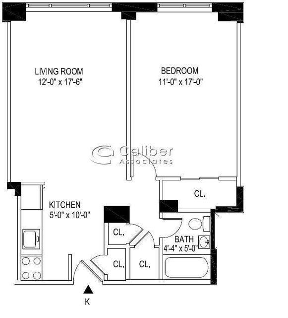 1 Bedroom, Manhattan Valley Rental in NYC for $3,390 - Photo 2
